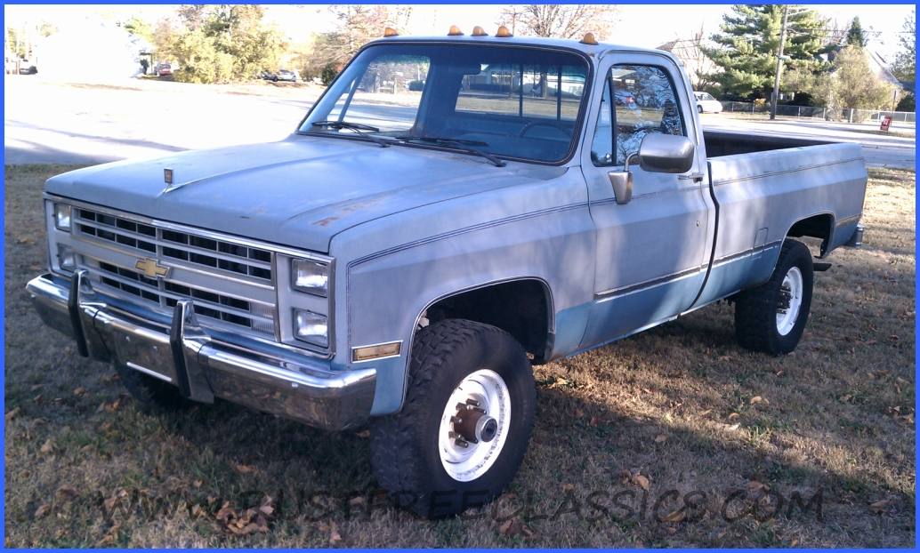 1986 86 Chevrolet Chevy K30 1 one ton 4x4 Four Wheel Drive Regular